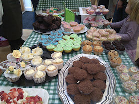 Thank you to all who supported the coffee morning in aid of MacMillan.
